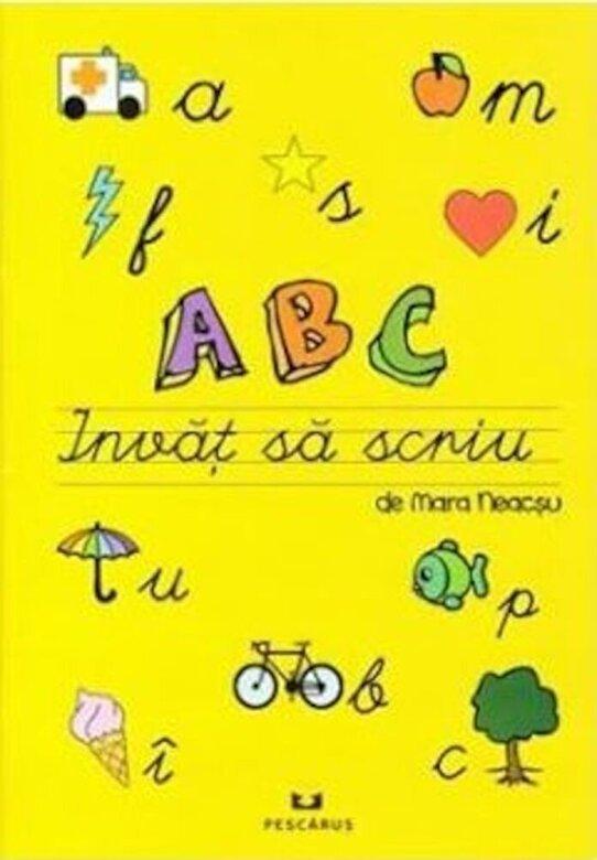 Mara Neacsu - ABC Invat sa scriu -