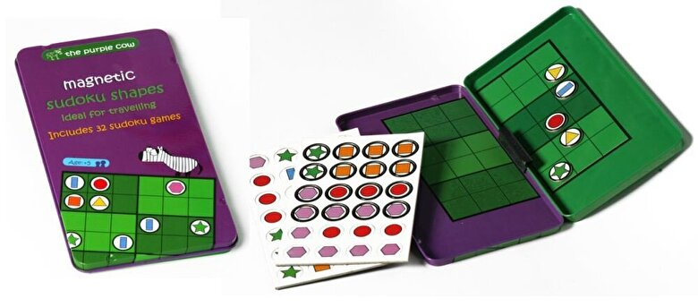 Momki - Joc magnetic - Sudoku cu forme geometrice -