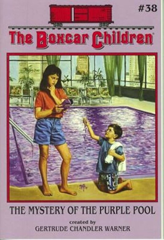 Gertrude Chandler Warner - The Mystery of the Purple Pool, Paperback -