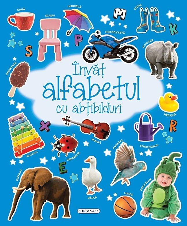 *** - Invat alfabetul cu abtibilduri -