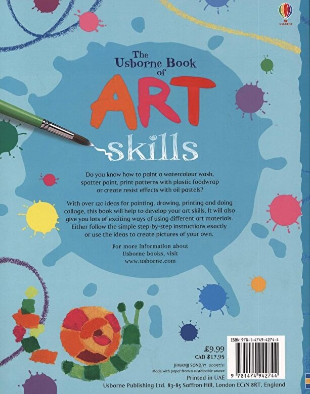 Fiona Watt - Art Skills, Paperback -