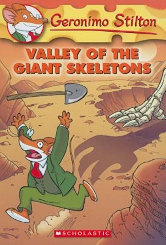 Geronimo Stilton - Valley of the Giant Skeletons, Paperback -