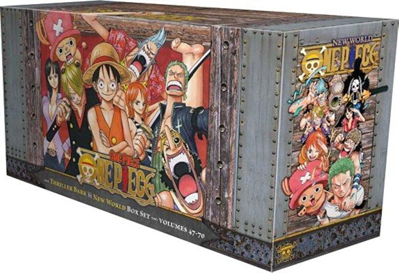 Eiichiro Oda - One Piece Box Set 3: Thriller Bark to New World, Volumes 47-70, Paperback -
