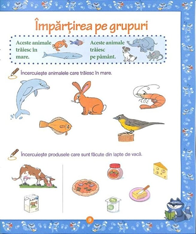 Christine Lecocq - Istet de mic! Lumea animalelor. Matematica - Citire - Scriere (5-6 ani) -