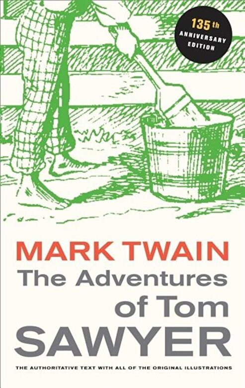 Mark Twain - The Adventures of Tom Sawyer, Paperback -