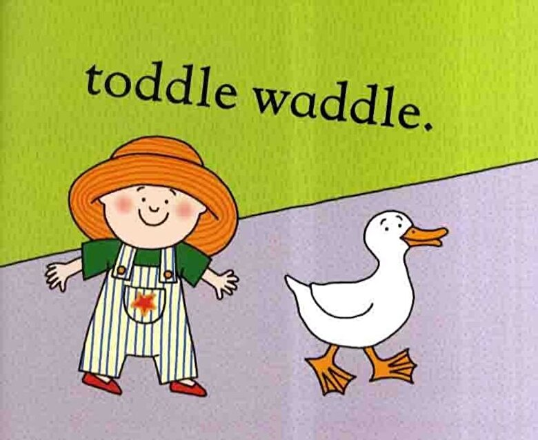 Julia Donaldson - Toddle Waddle, Paperback -