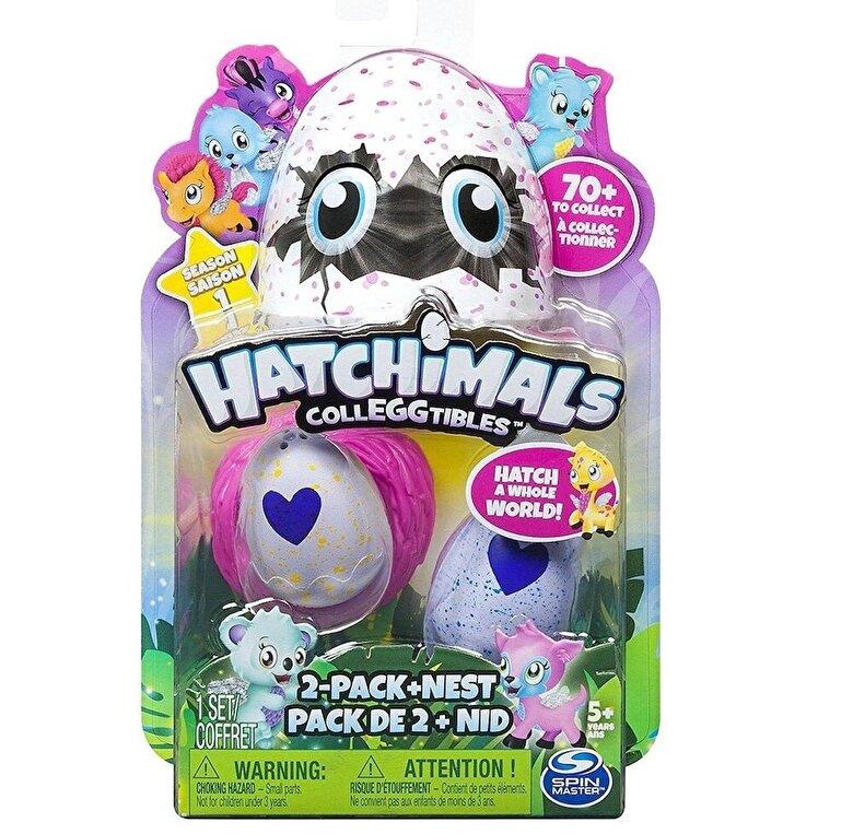 Spin Master - Hatchimals - Set 2 figurine colectibile si cuib -
