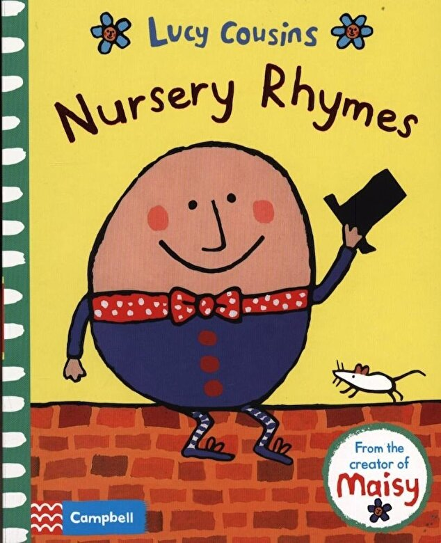 Lucy Cousins - Nursery Rhymes, Hardcover -