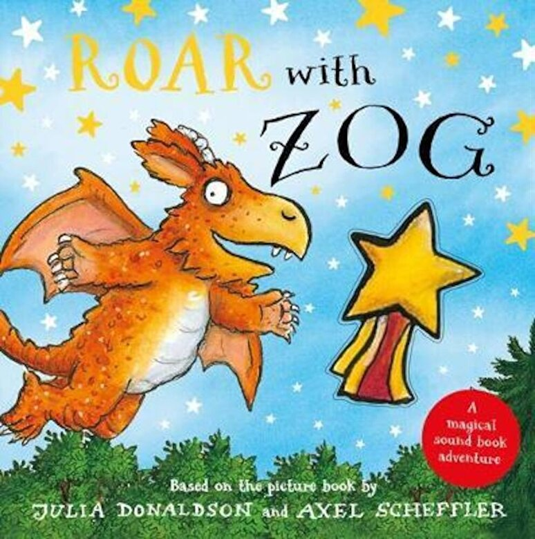 Julia Donaldson - Roar with Zog, Hardcover -