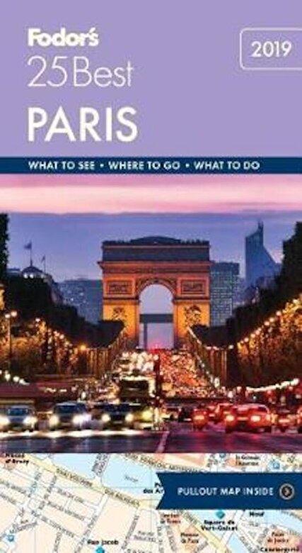 Fodor's Travel Guides - Fodor's Paris 25 Best, Paperback -
