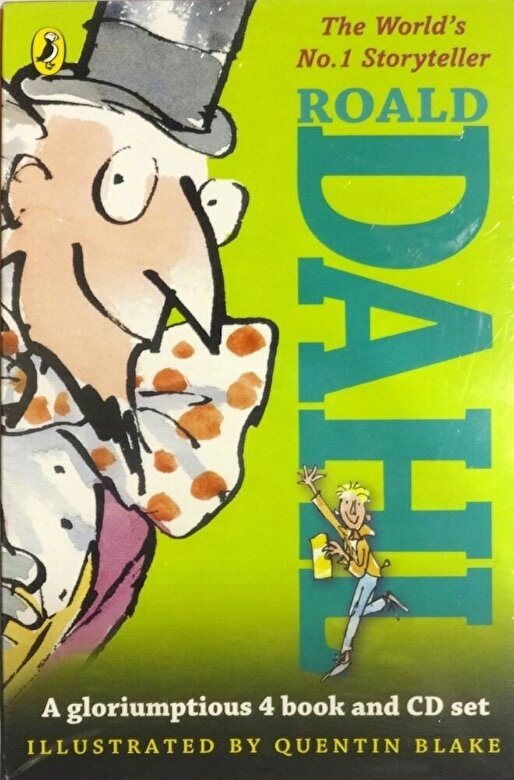 *** - Dahl Book and Audio Slipcase -