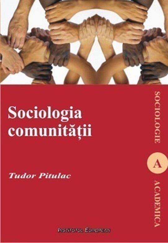 Tudor Pitulac - Sociologia comunitatii -