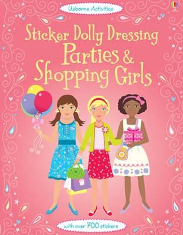 Fiona Watt - Sticker Dolly Dressing Parties and Shopping Girls, Paperback -