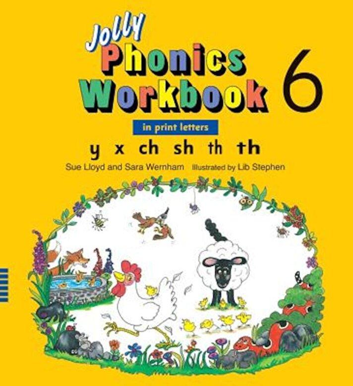 Sue Lloyd - Jolly Phonics Workbook 6, Paperback -