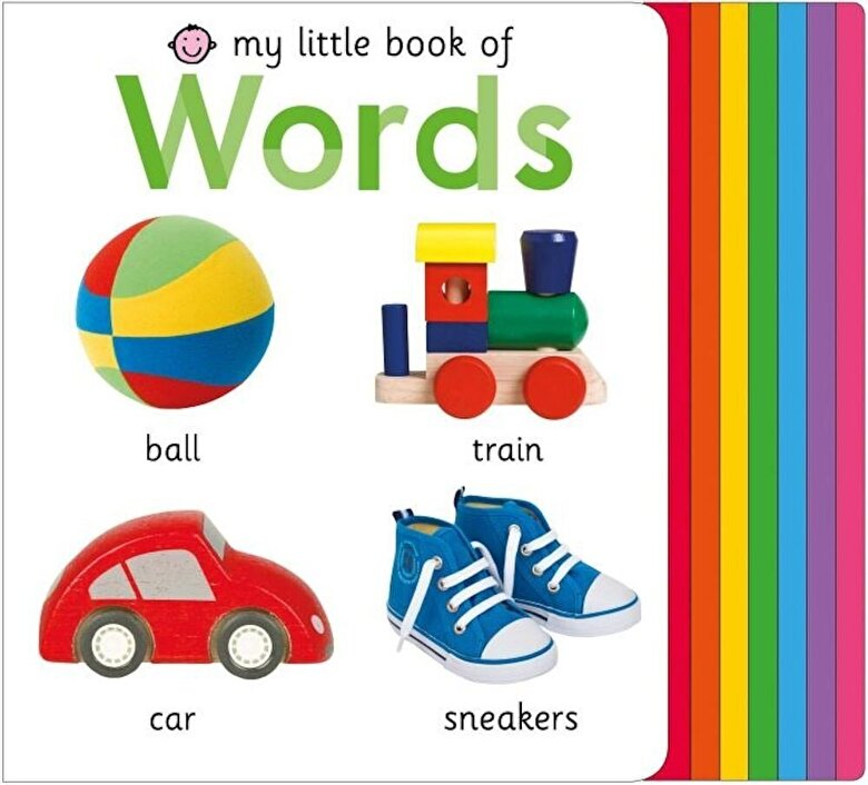 Roger Priddy - My Little Book of Words, Hardcover -