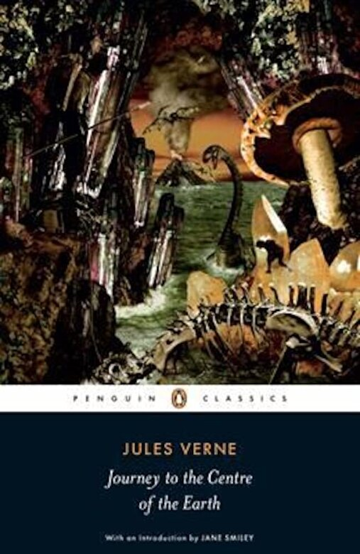 Jules Verne - Journey to the Centre of the Earth, Paperback -