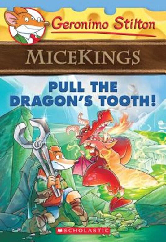 Geronimo Stilton - Pull the Dragon's Tooth!, Paperback -