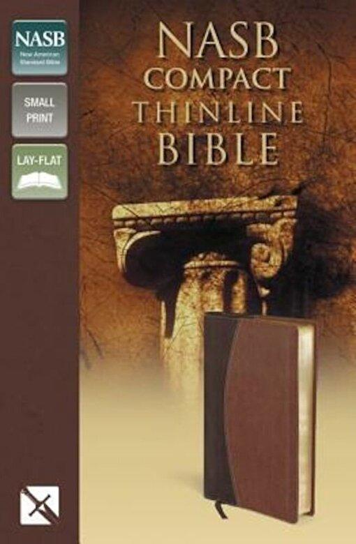 Zondervan - Compact Thinline Bible-NASB, Hardcover -
