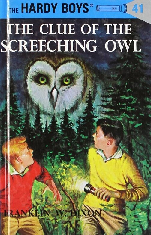 Franklin W. Dixon - The Clue of the Screeching Owl, Hardcover -
