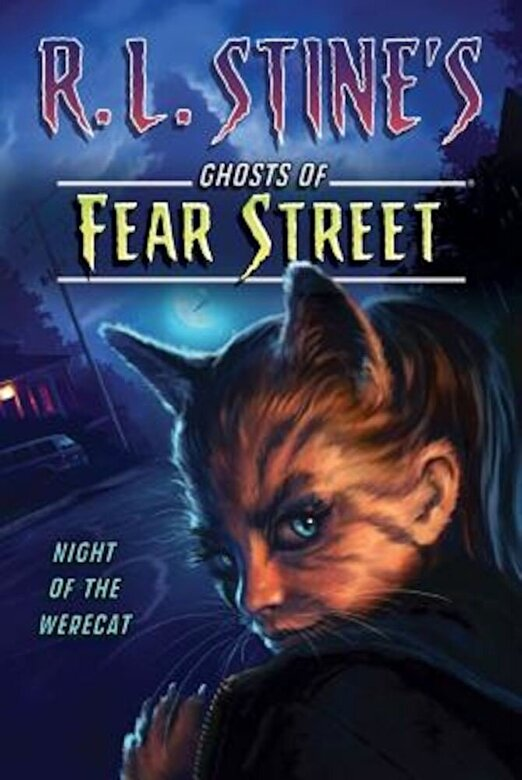 R. L. Stine - Night of the Werecat, Paperback -