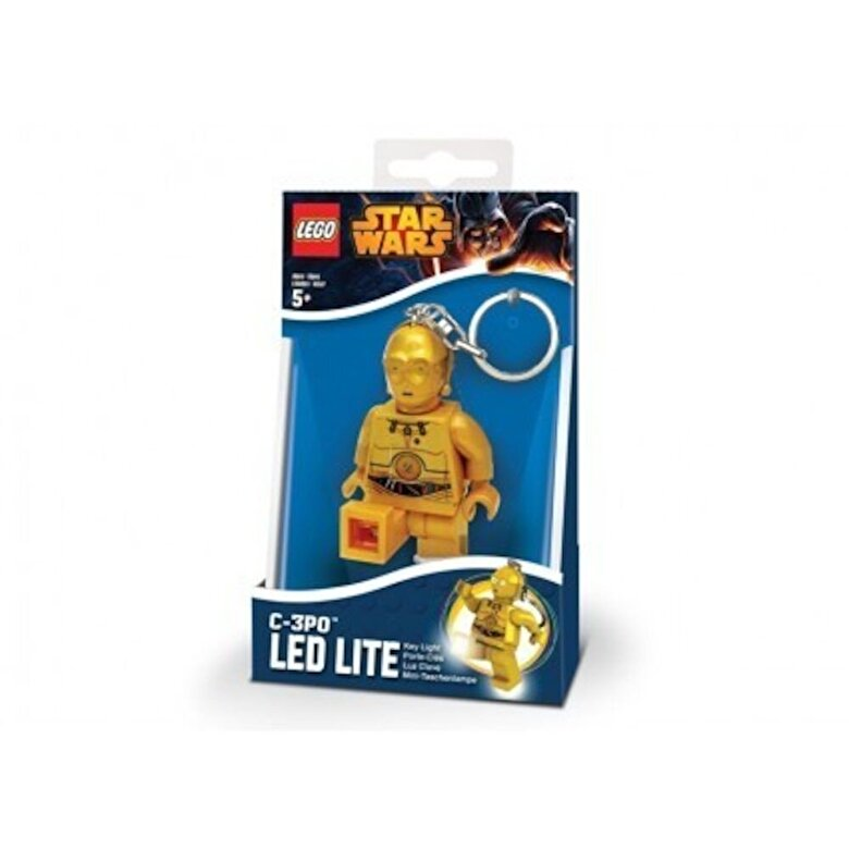 LEGO - LEGO Star Wars, Breloc cu lanterna - C-3PO -
