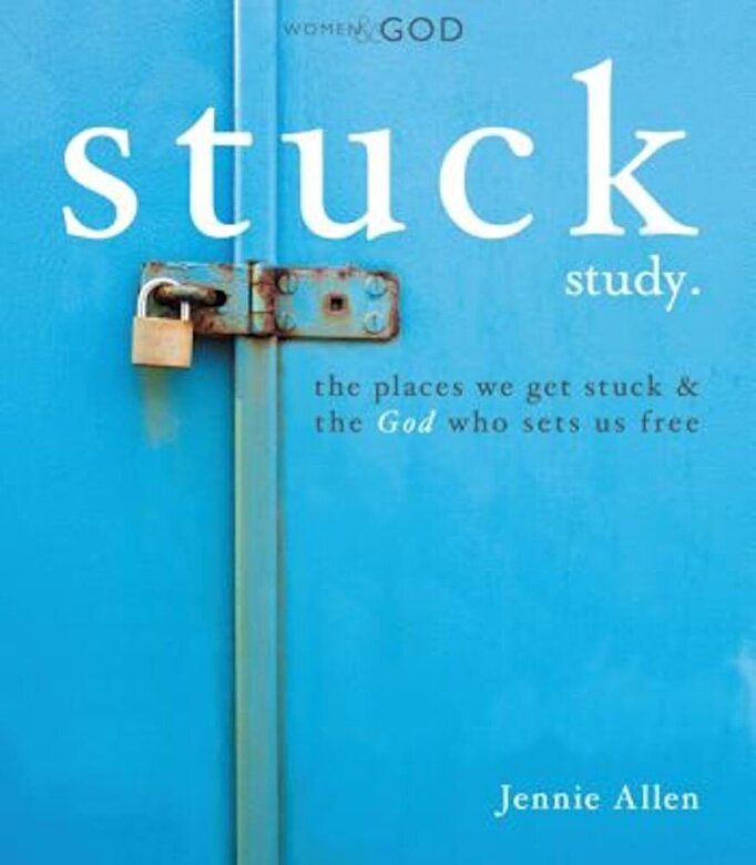 Jennie Allen - Stuck Study Guide, Paperback -
