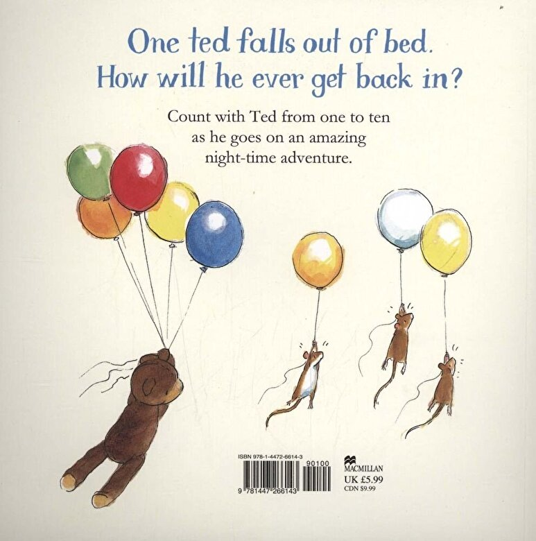 Julia Donaldson - One Ted Falls Out of Bed, Paperback -