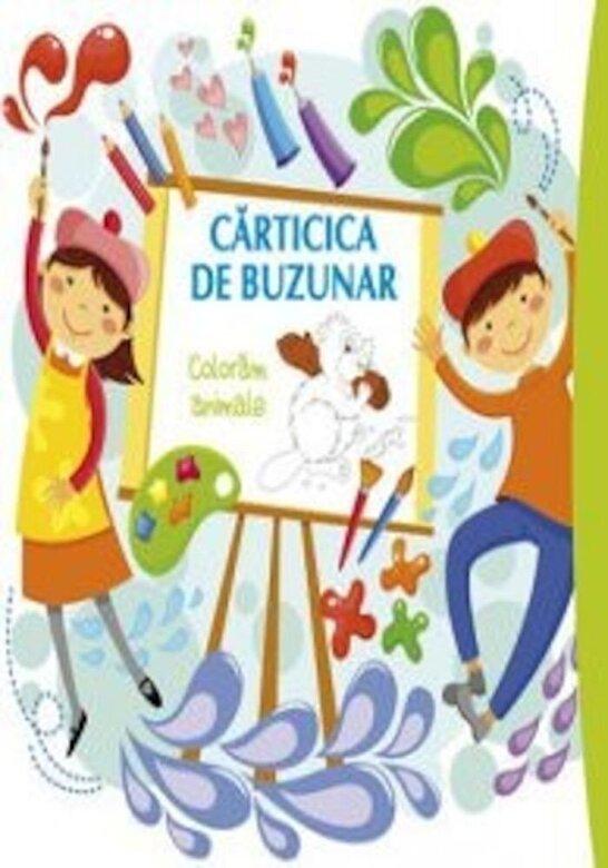 Roxana Geanta - Carticica de buzunar. Coloram animale -