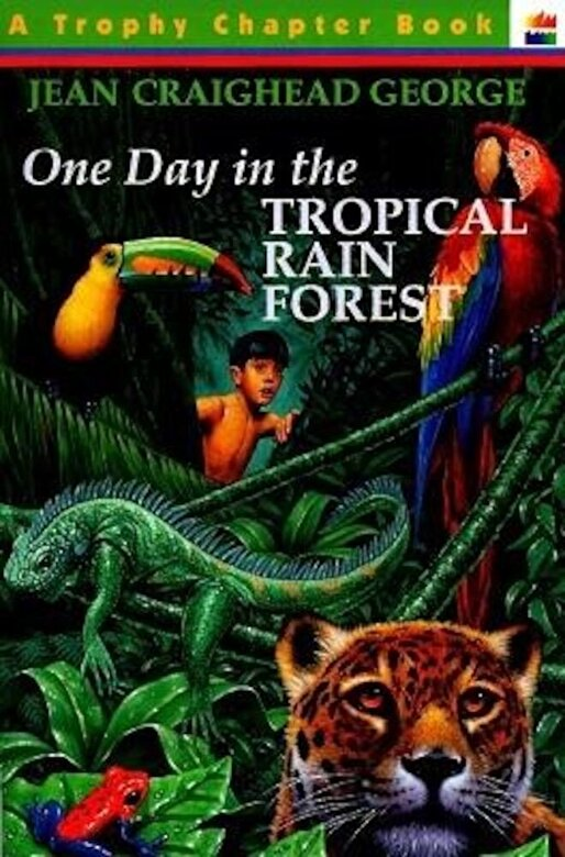 Jean Craighead George - One Day in the Tropical Rain Forest, Paperback -