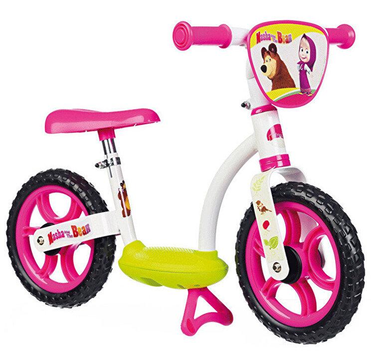 Smoby - Bicicleta fara pedale Masha and the Bear, Smoby -