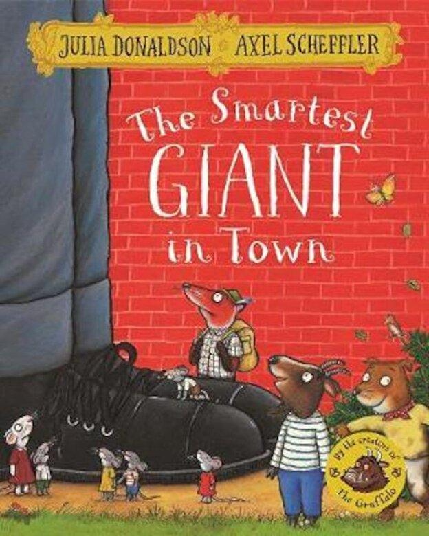 Julia Donaldson - Smartest Giant in Town, Paperback -