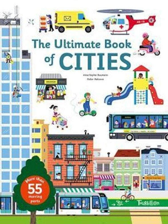 Anne-Sophie Baumann - The Ultimate Book of Cities, Hardcover -