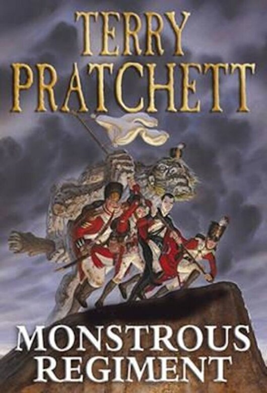 Terry Pratchett - Monstrous Regiment, Paperback -