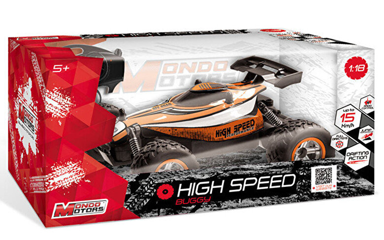 Mondo Motors - Masina cu telecomanda Buggy rapid 1:18 -