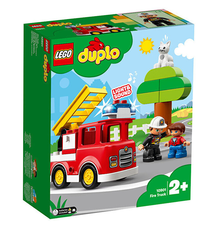 LEGO - LEGO DUPLO, Camion de pompieri 10901 -