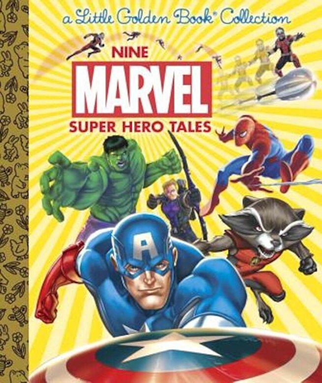Various - Nine Marvel Super Hero Tales (Marvel), Hardcover -