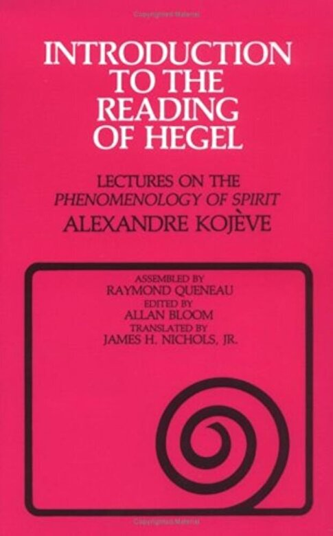 Alexandre Kojeve - Introduction to the Reading of Hegel: Lectures on the ``Phenomenology of Spirit``, Paperback -