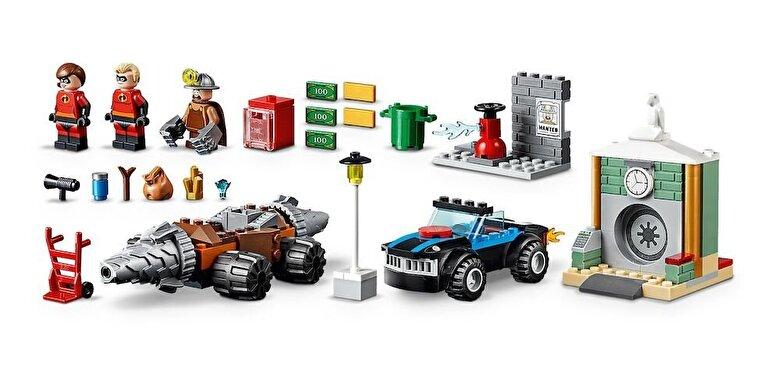 LEGO - LEGO Juniors - Incredibles 2, Jaful de la banca cu Subminatorul 10760 -