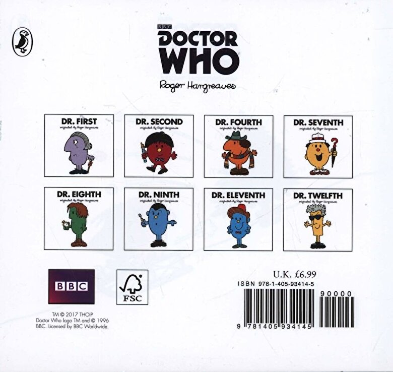 Adam Hargreaves - Doctor Who: Dr. Tenth: Christmas Surprise! (Roger Hargreaves, Hardcover -
