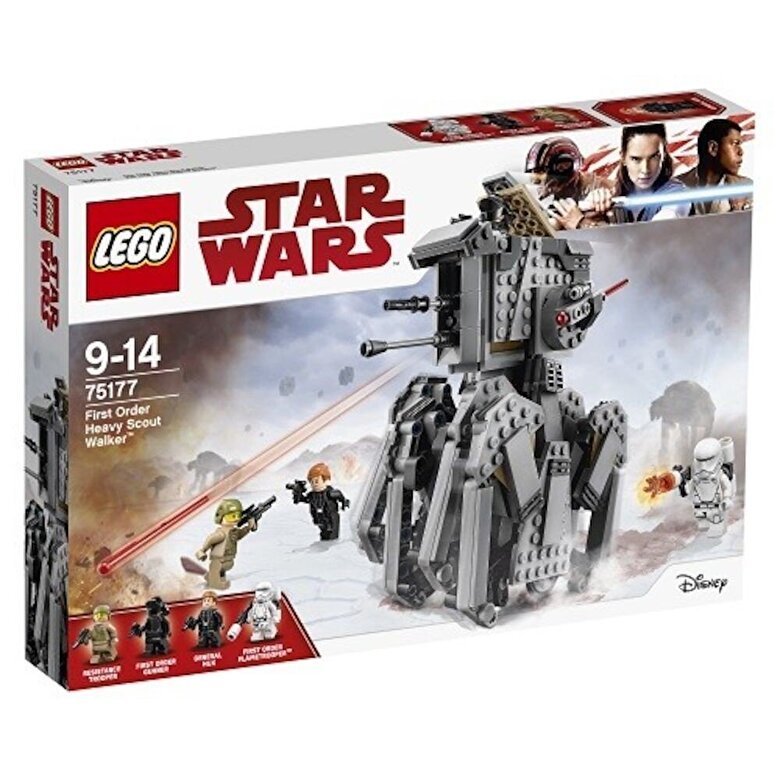 LEGO - LEGO Star Wars, Heavy Scout Walker al Ordinului Intai 75177 -