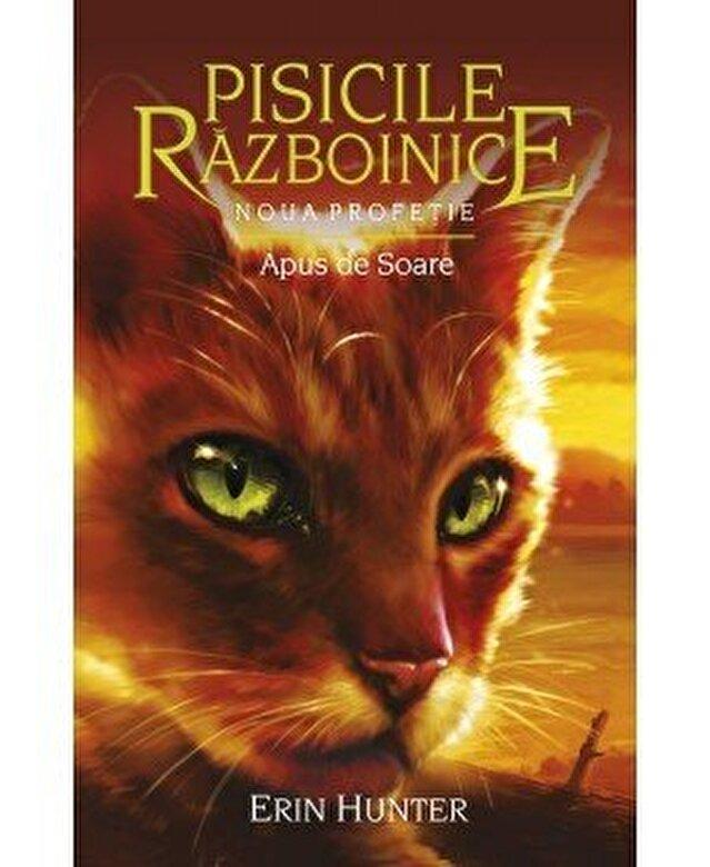 Erin Hunter - Pisicile razboinice - Noua profetie. Cartea a XII: Apus de soare -
