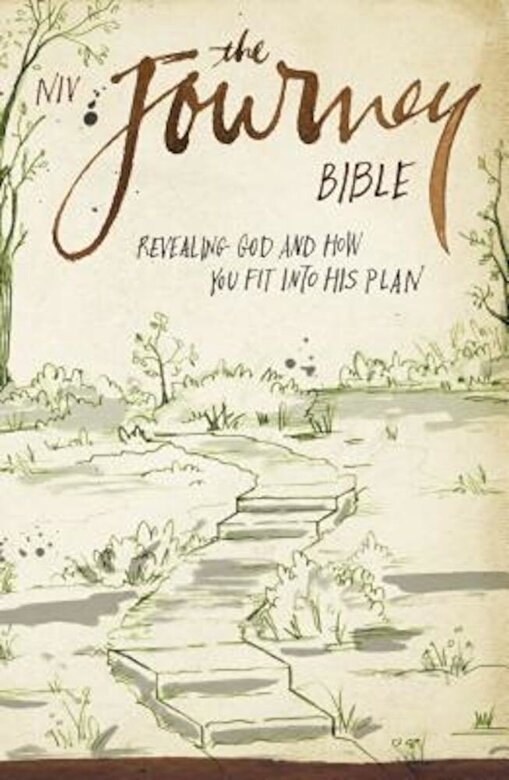 Zondervan - Journey Bible-NIV: Revealing God and How You Fit Into His Plan, Paperback -