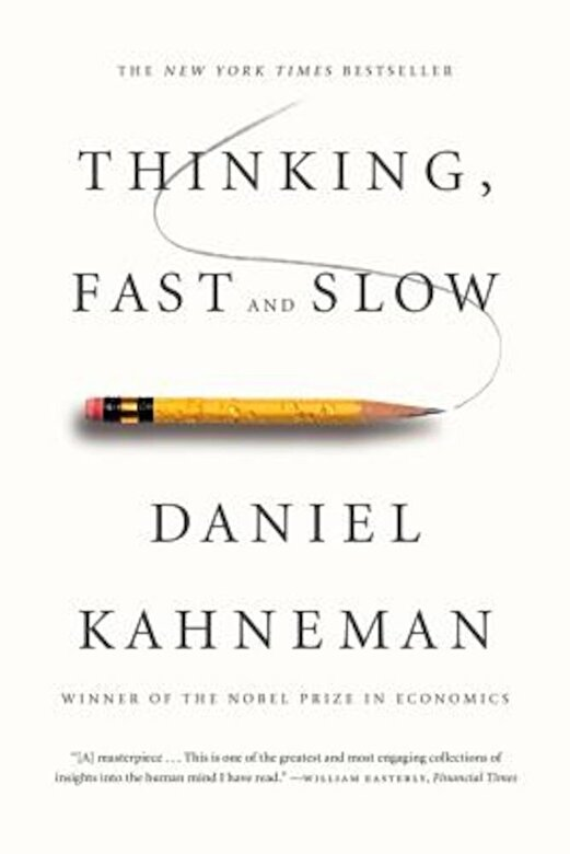 Daniel Kahneman - Thinking, Fast and Slow, Paperback -