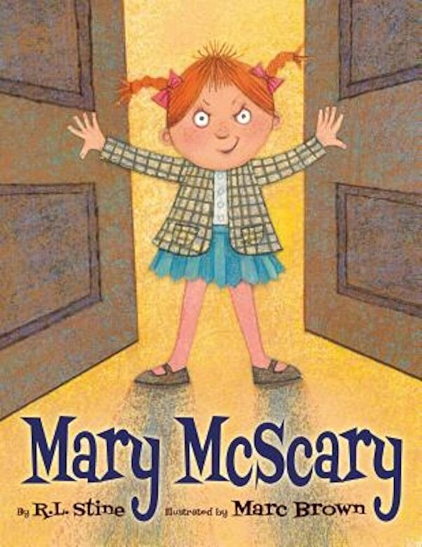 R. L. Stine - Mary McScary, Hardcover -