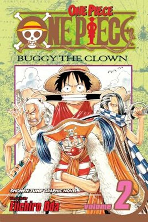 Eiichiro Oda - One Piece, Volume 2: Buggy the Clown, Paperback -