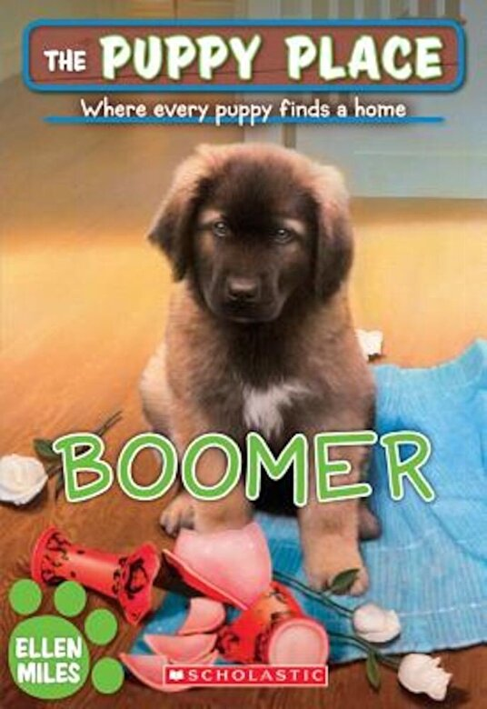 Ellen Miles - Boomer (the Puppy Place #37), Paperback -