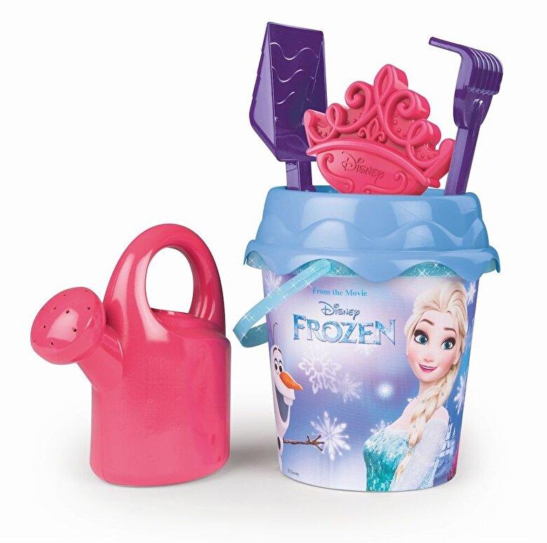 Smoby - Frozen - Galetusa cu accesorii pentru plaja -