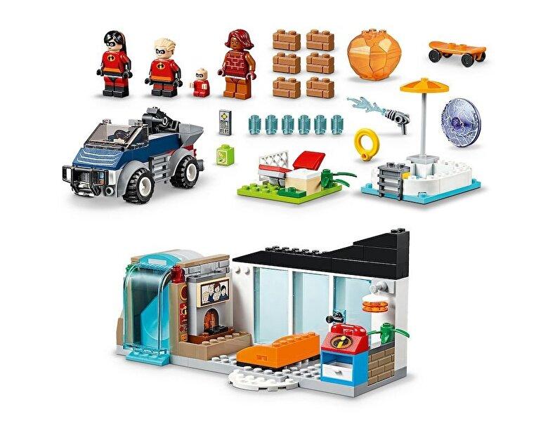 LEGO - LEGO Juniors - Incredibles 2, Marea evadare de acasa 10761 -