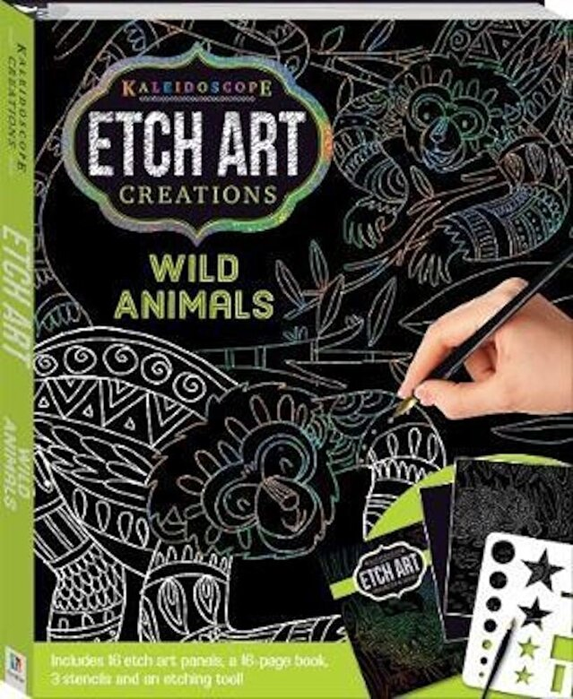 *** - Kaleidoscope Etch Art Creations: Wild Animals and More -