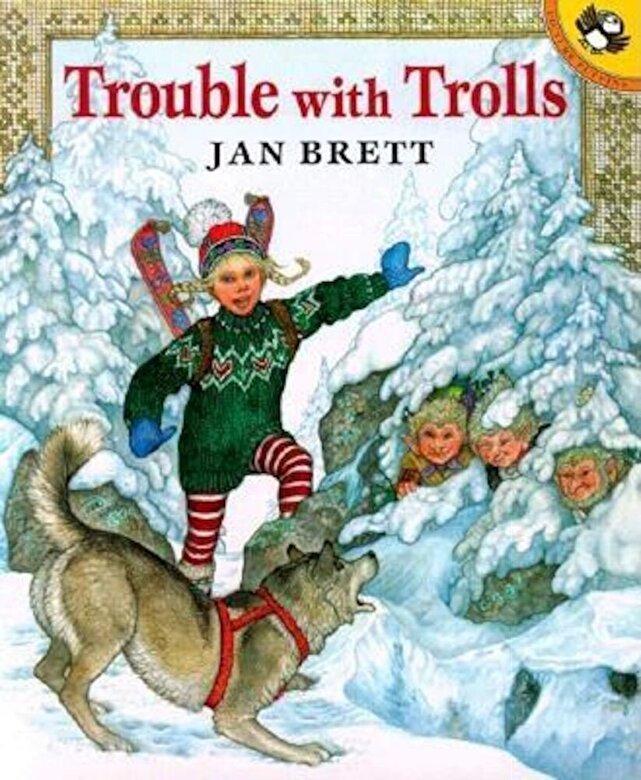 Jan Brett - Trouble with Trolls, Paperback -
